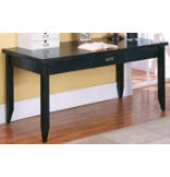 Tribeca Loft Black Writing Table (Doubles As Desk For Return)