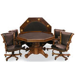 "Winslow 54"" Game Table Set"