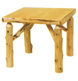"32"" Square Game Table with Standard Finish"