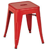"Patterson 18"" Metal Backless Stool - 2 Pack"